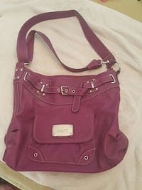 women's pink shoulder bag