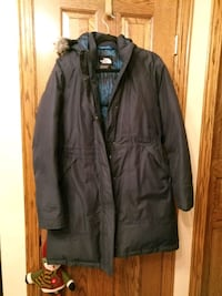 The north face winter down jacket