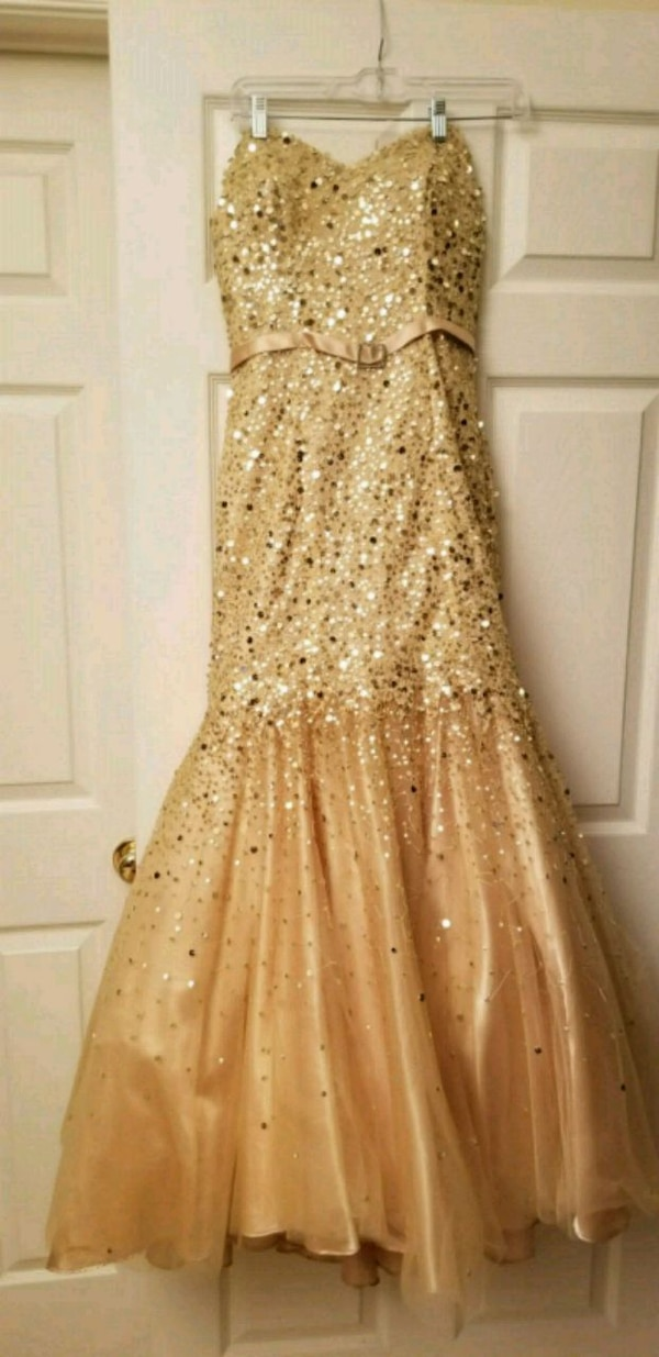 Gorgeous Camille Strapless Dress Size 6
