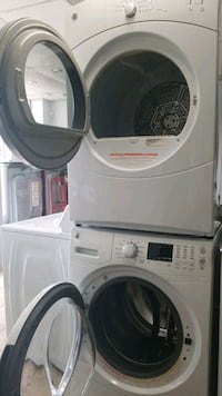 Washer/dryer GE set white Laurel, 20724
