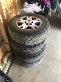 Ford escape tires and rims Calgary, T3N 0R4