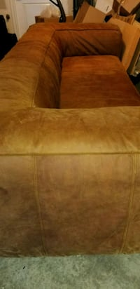brown suede 2-seat sofa Adelphi, 20783
