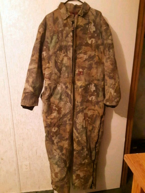 778540c2fcb8a Used Men Camo Coveralls (Black Duck) 2X-Large Regular for sale in Piedmont  - letgo