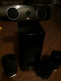 black and gray home theater system Augusta, 30904