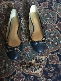 Jessica ladies blue and gold flats size 8.5 Oakville, L6H 1Y4