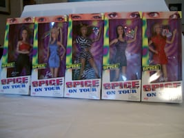 Spice Girls On Tour Collection (5 dolls)