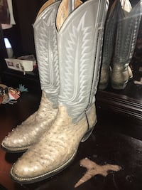 amazonas cowboy boots womens size 10 in good condition originally $300 even the ones I show on poshmark are not as nice as these located off lake mead and jones area asking $10 Las Vegas, 89108