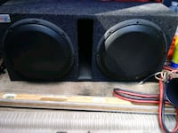 Two JL audio 12 inch subwoofers.. Bronx, 10451