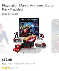 Playmation marvel avengers starter kit