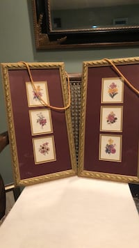 15x8 decor pictures with dark gold cord for hanging- can adjust to your choice Silver Spring, 20905