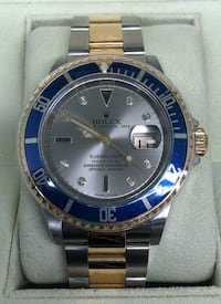 ROLEX Submariner Blue Two-Tone w/ Serti Dial Costa Mesa, 92627