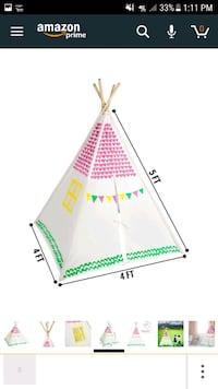 Teepee Play Tent Frederick, 21701