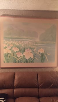 """Pond painting 60"""" by 48"""""""