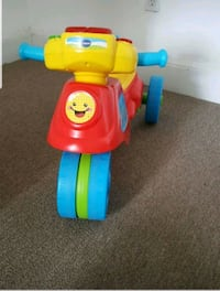 toddler's multicolored ride-on toy 247 mi