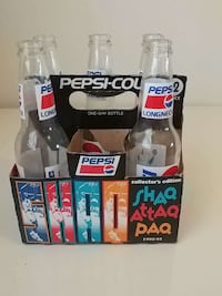 Five Glass Pepsi Soda Bottle Palm Bay, 32908