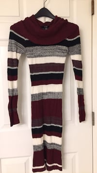 white and black striped sweater Calgary, T3B