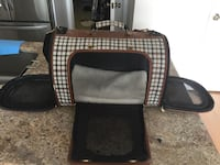 Black and brown leather crossbody bag Pembroke Pines