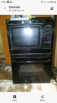 Oven and microwave Combination for sale