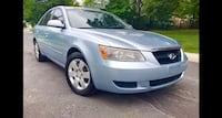 2007 Hyundai Sonata Drives Like New Very Clean Silver Spring
