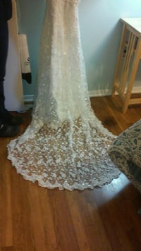 Wedding dress size 2 Pasadena, 21122