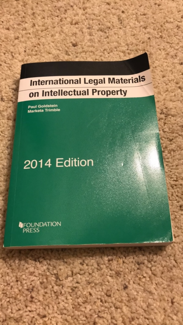 international legal materials on intellectual property