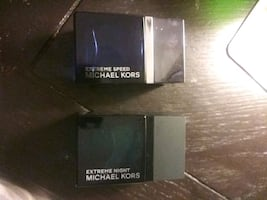 Micheal Kors cologne(extreme night)&(extreme speed)