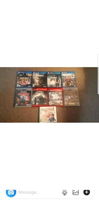 PS4 - PS3 - DS Games! Kitchener, N2A 0E8