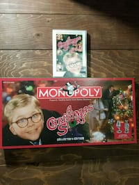 A Christmas Story monopoly collectors edition+DVD  3162 km