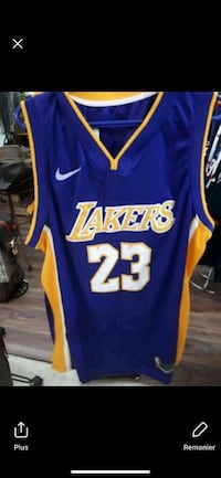 blue and yellow Lakers 24 jersey Montréal, H3N 2R6