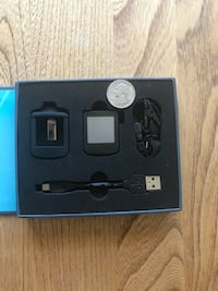 Pedometer, includes cover, USB charger/adapter, clip & original box