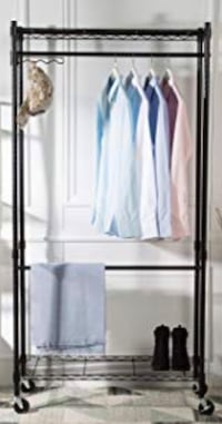 Gourmet Double Clothing Rack