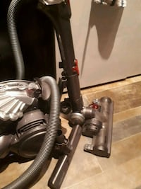 black and gray canister vacuum cleaner Calgary, T2P 0N3
