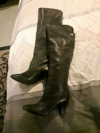 Real leather black guess boots Winnipeg, R2M 4K5