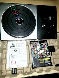 DJ Hero Turntable Controller & Game, Sony Playstation 2