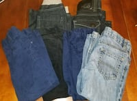 Toddle boys 6 piece pants lot new and slightly use 542 km