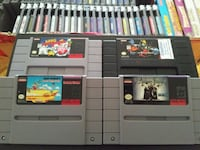 SNES games for sale individually  Vaughan, L4L