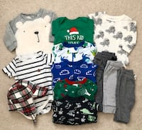 Baby boy clothing lot size 3-6 months  Mississauga, L5M 0H2
