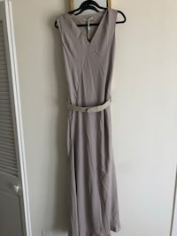 Halston Heritage maxi dress with belt size 6 Los Angeles, 90036