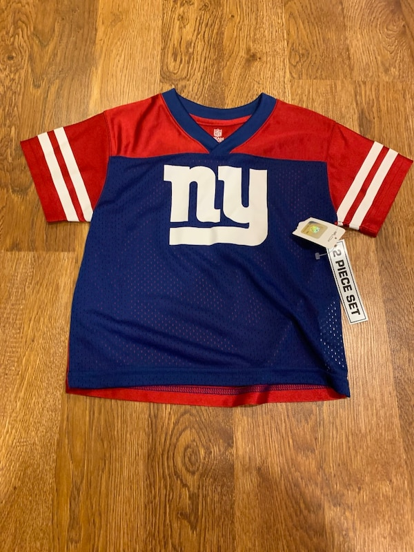 competitive price 5e845 6827b Toddler NY Giants jersey