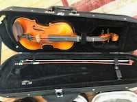 1/4 Violin with Bow and Case ELKRIDGE