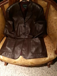 Daniers men leather coat  L Richmond Hill, L4C 6E4
