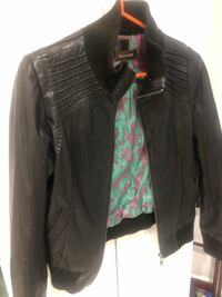 Leather bomber - Danier Leather Small Brampton, L6Z 4T5