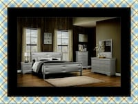 11pc Grey Marley bedroom set with mattress Seat Pleasant, 20743
