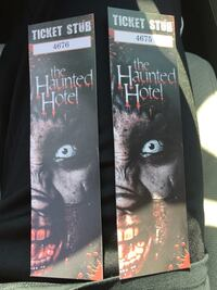 The Haunted Hotel 2 tickets  San Diego, 92126