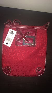 red Xoxo leather shoulder bag Toronto, M9N 3V8