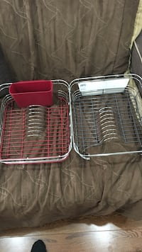 two silver dish racks Mississauga, L5H 3Y9