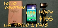 "LG STYLO 2PLUS AMAZING 5.7""CEL +STYLUS+box+charg Pointe-Claire, H9R"