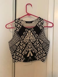 Geometric Angl crop top Los Angeles, 90035