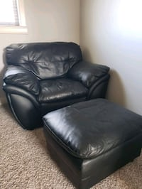Leather chair and Ottoman  St. Albert, T8N 7B6