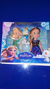New frozen doll set